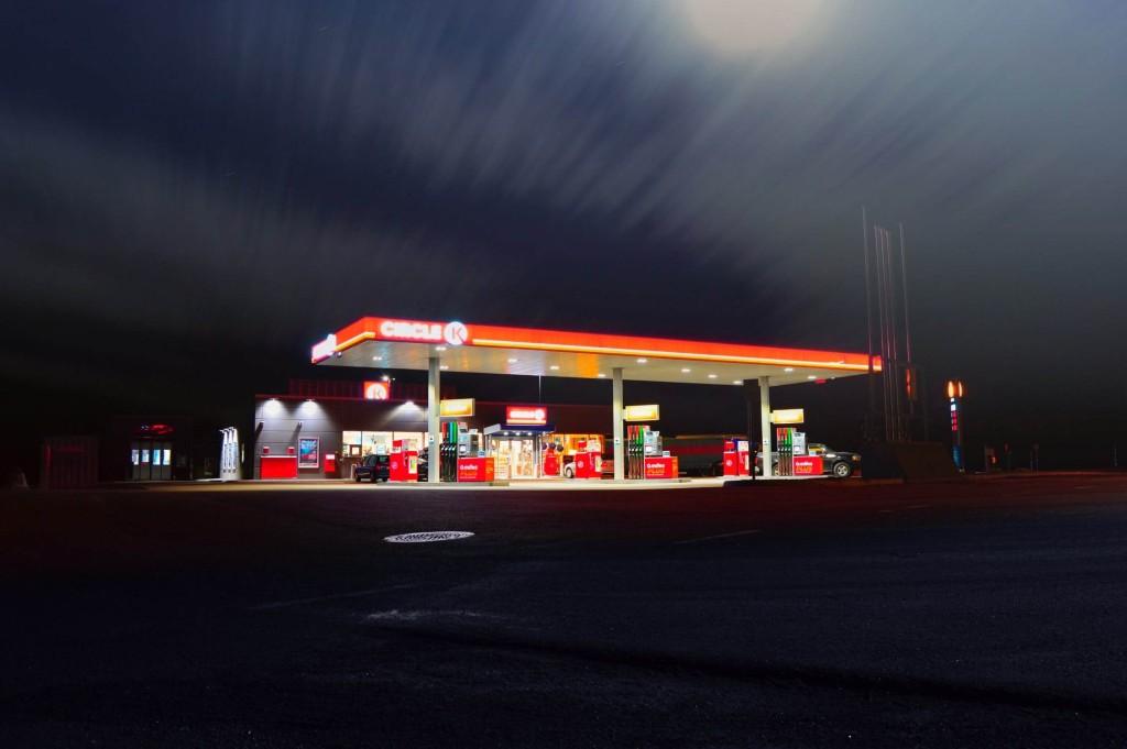 セルフ ガソリンスタンド 楽